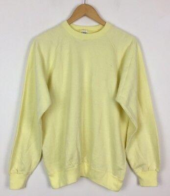 100% Vero Vintage Retrò 80s Oversize Bright Crazy Usa Felpa Maglione Jumper Usa Sports-mostra Il Titolo Originale