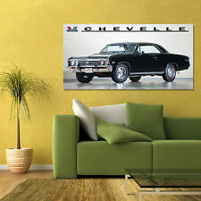 1967 CHEVY CHEVELLE MALIBU SS 396/375 COUPE MUSCLE CAR LARGE POSTER 24x48in
