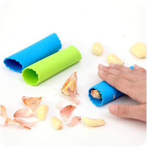 Tube Éplucheur Ail Peler Peel Ecorceur Silicone Outil Cuisine Pratique Magic NF