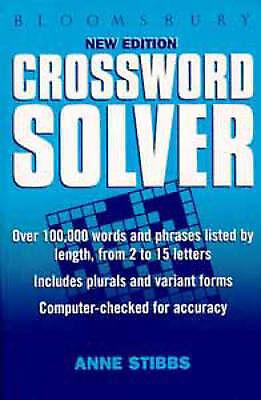 1 of 1 - Very Good, Bloomsbury Crossword Solver, , Book