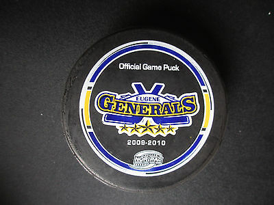 2006-07 OSHAWA GENERALS  OFFICIAL OHL GAME PUCK COMMEMORATING 1939 MEMORIAL CUP