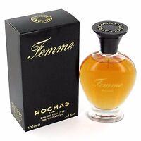 Vintage Femme By Rochas For Women 3.4 Oz Eau De Toilette Spray In Box