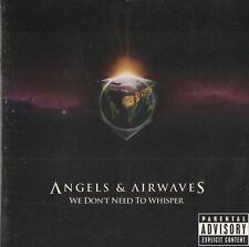 We Don't Need to Whisper Angels & Airwaves Music CD 2006 Geffen