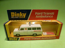 DINKY TOYS 274 FORD TRANSIT AMBULANCE - RARE SELTEN - GOOD CONDITION IN BOX