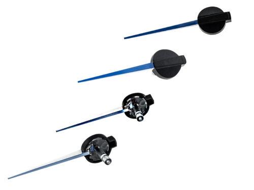 50mm LETRONIX Tachonadel Tachozeiger Tacho Zeiger Nadel in Blau Design 2