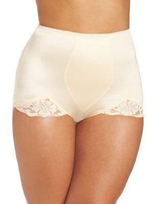 Rago Shapewear V-leg Light Shaping Beige Brief Plus Size 42/6xl Women's Clothing