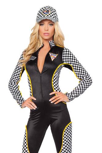 Grid Girl Anzug Overall Boxenluder Kostüm S//M M//L Rennfahrer Made in USA