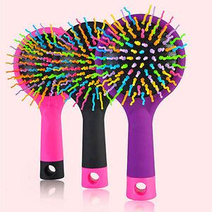 LC-CLASSE-RAINBOW-Peigne-Volume-Brosse-Magie-a-cheveux-avec-miroir-pour-Tang