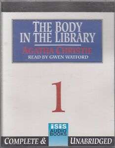 Agatha-Christie-The-Body-In-The-Library-6-Cassette-Audio-Book-Unabridged