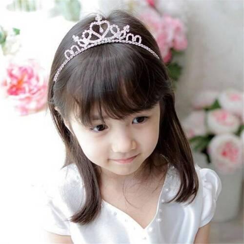Headband Hairband Children/'s Crown Pretty Trendy Gift Chic Party Heart Shape LP