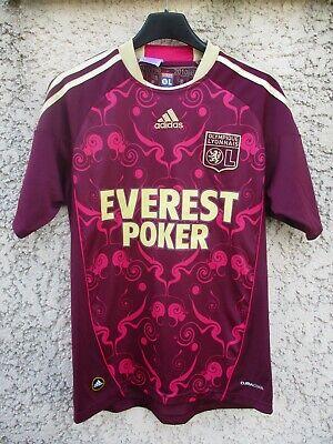 Maillot OLYMPIQUE LYONNAIS OL LYON 2010 2011 ADIDAS shirt jersey camiseta third | eBay