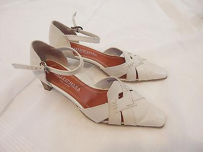 * Schicke Schuhe von Sally O`Hara * Gr. 36 * Pumps Sandale * beige *