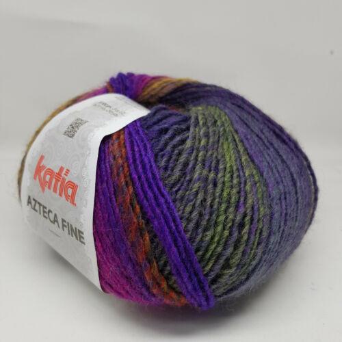 100g AZTECA FINE KATIA Wolle Farbverlauf 220 Strickwolle Winterwolle