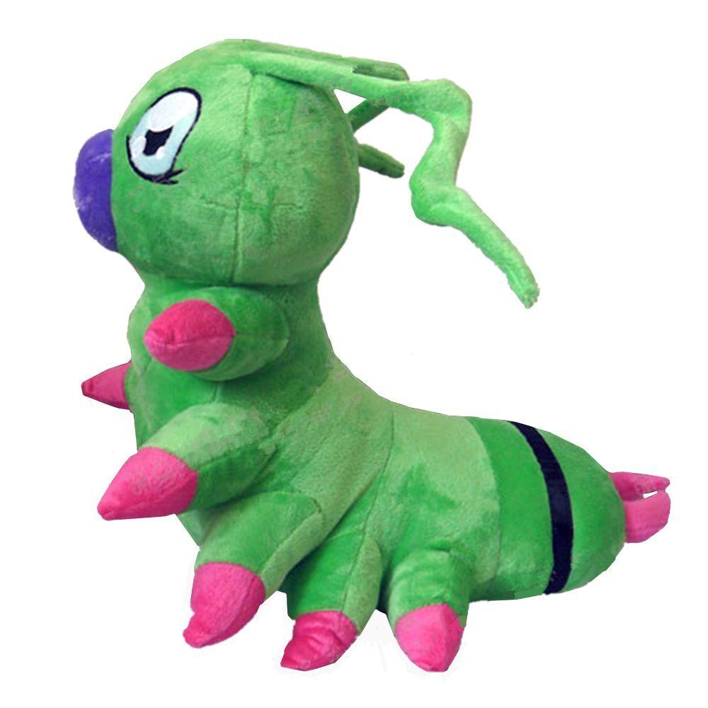 Animation Digimon Adventure Wormmon Hecho a Mano Animal de Peluche Muñeca de Juguete de Felpa Raro