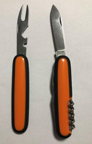 TASCHENMESSER RICHARTZ   PICKNICK  MESSER /& GABEL Farbe Orange
