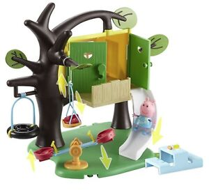 Peppa-Tree-House-with-Peppa-Figure-Playset-Toy-by-Character-Options-NEW