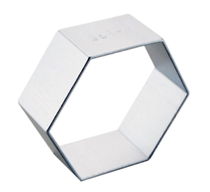 Hexagon-Shaped-Cookie-Cutter-Metal-Alloy-Biscuit-Pastry-Cake-Baking-Jelly-Mould