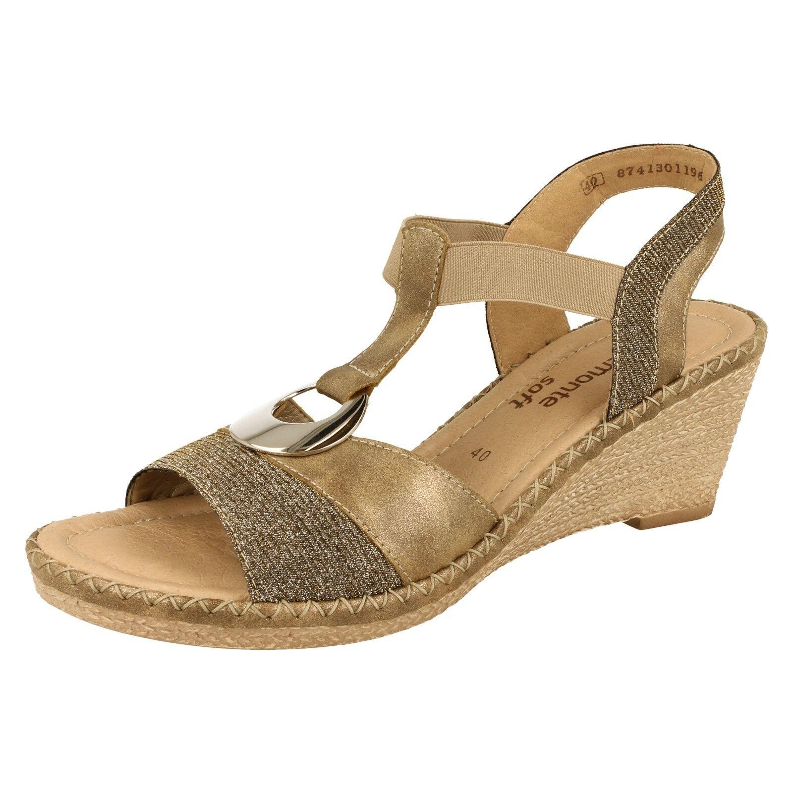 Ladies Remonte Sandals - D6762