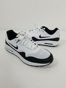 Nike Air Max 1g 1 G Men S Spikeless Golf Shoes Us Size 10 White Black Ci7576 100 Ebay