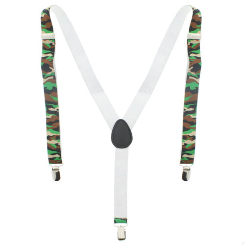 Zac/'s Alter ego ® Hommes//Femmes Réglable 25 mm largeur Camouflage Bretelles//Bretelles
