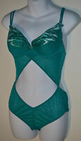 Verde Veronica Butterfly Underwired Body Suit Nightwear (medium) Emerald Rp £157