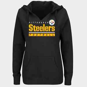 521a08fed NFL Pittsburgh Steelers Majestic Women s Self Determination Hoodie ...