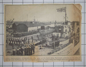 1925-PORTSMOUTH-The-Body-Of-General-Lord-Rawlinson-Arrives-On-A-Destroyer
