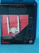 Star Wars Black Series Titanium Kylo Rens Command Shuttle 03 BNIB