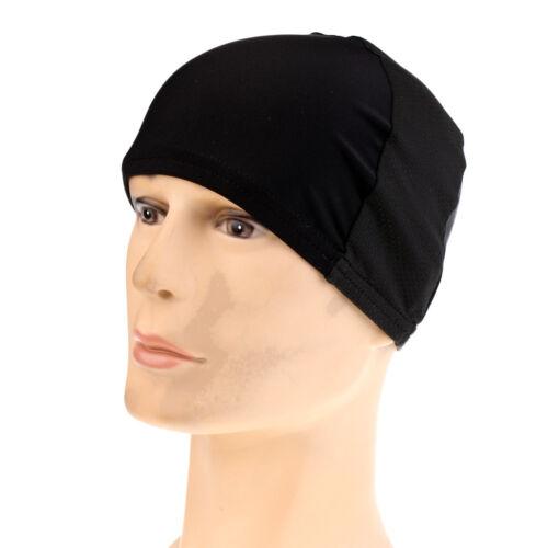 Men Women Cycle Hat Cycling Helmet Cap Breathable Bicycle Headwear Black