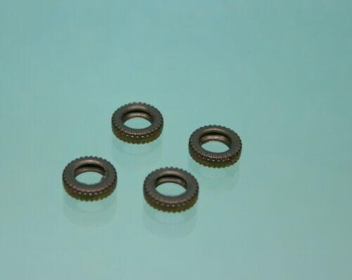 VO52 Lot 4 pneus noirs striés creux 11//7 pour CIJ RENAULT 4cv réf:3//48