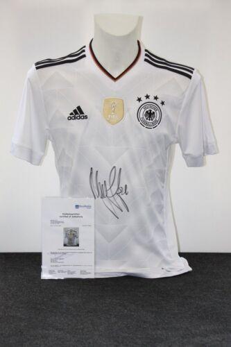 S Ilkay Gündogan signiert Manchester Deutschland Trikot DFB