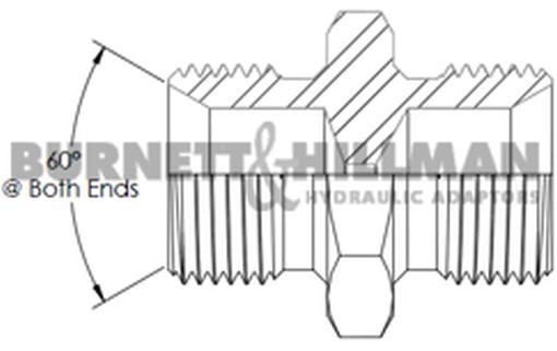 Burnett & Hillman Bsp 1cm Mâle X X X Bsp 1.3cm Mâle + 1mm Constricteur 13104 d794b2