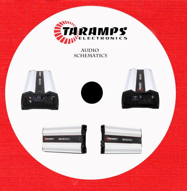 Taramps Audio Schematics On 1 Cd In Pdf Format