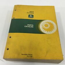 Genuine John Deere 6600 Combine Parts Catalog Pc 1166 1982 Dealer Service