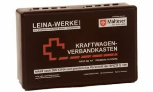 Verbandtasche Auto Mini 3 In 1 Inhalt Nach Din 13164 Blau 62220 Inkl Verbandskästen Auto-anbau- & -zubehörteile Weste Gelb