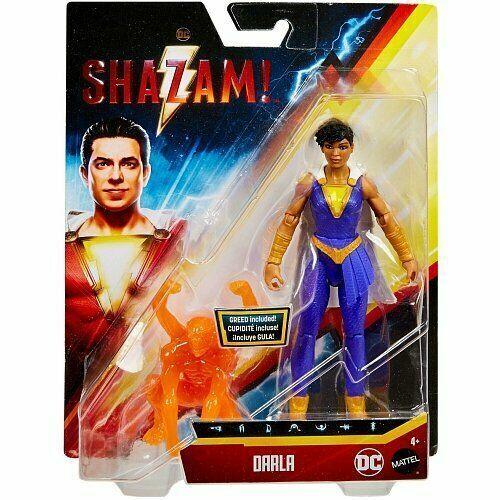 DC Comics Shazam Darla Action Power Slingers Figure New Rare
