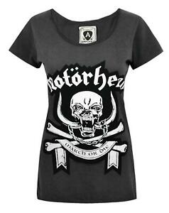 Amplified-Motorhead-March-Women-039-s-T-Shirt