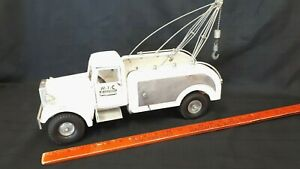 1950-039-s-SMITH-MILLER-Tow-Truck-Cast-Aluminum-Nice-Original-Condition