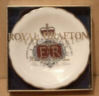 1977 Queen Elizabeth II Silver Jubilee Commemorative Plate  Royal Grafton