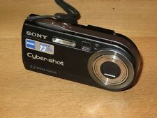 Sony Cyber-shot DSC-P150 7.2 MP Digital Kamera - Schwarz