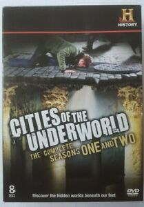 Cities of the Underworld The Complete Seasons One 1 and Two R 2 DVD Set 8 Discs