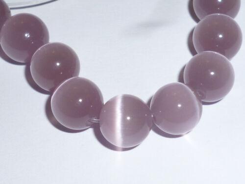 5 Stück Perlen 8 mm Katzenaugen Rund 4g nach Auswahl Cats Eye