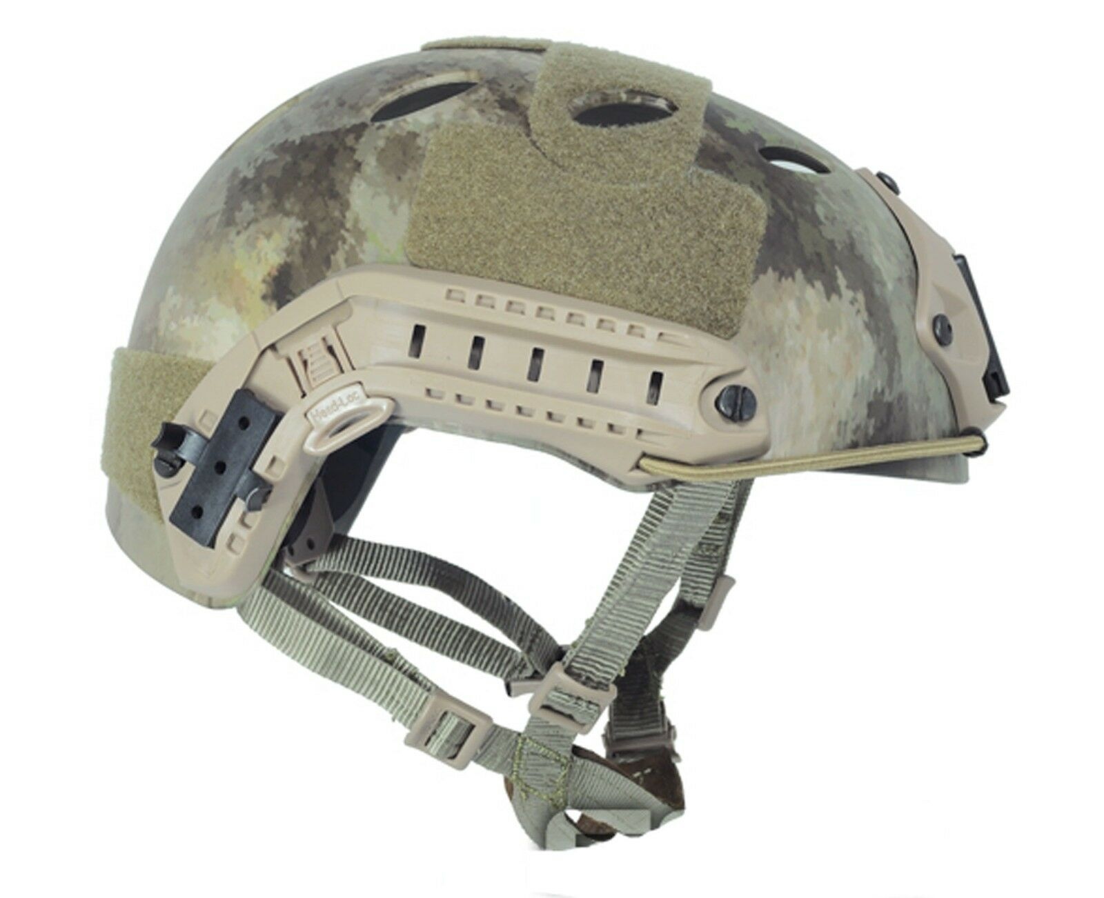 Military Tactical Airsoft Paintball FMA FAST Helmet-PJ TYPE A-Tcs T465L XL