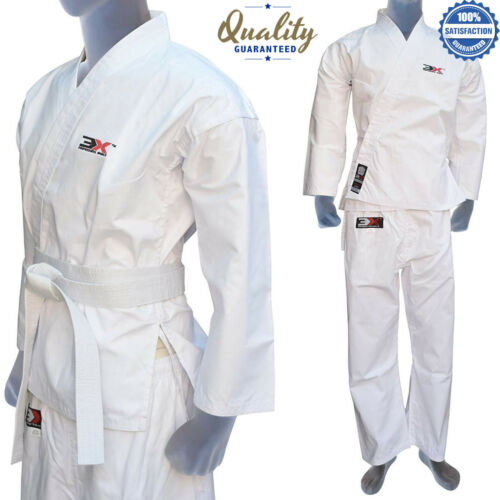 3xSports Student Karate BJJ Suit Poly Cotton Pre-shrunk Uniforms Kids Gi Kit New