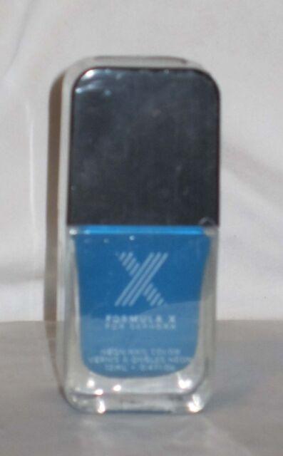 Sephora Formula X Electrics ZING Neon Blue NEW SEALED FULL SIZE Nail Polish