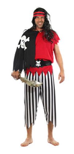 Karneval Gr Kostüm Pirat Fasching M XL NEU