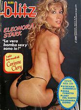 BLITZ 29 1985 Eleonora Stark Rosa Fumetto Lana Wood Corinne Clery Lory Del Santo