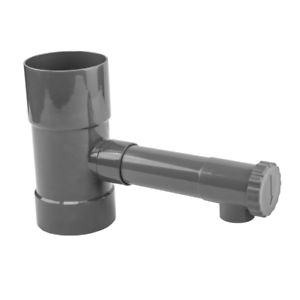 DOWNPIPE Rain Collector 80/100 mm Water Collector Rainwater Collectors Water Catcher