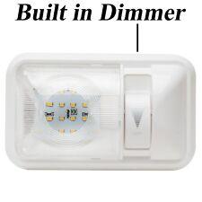 Rv Interior Led Ceiling Light Boat Camper Trailer Single Dome 12v 280lm Dimmer