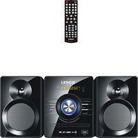 Home Stereo Mini Hifi System Bluetooth Cd Player Usb Dvd Compact Audio Sound